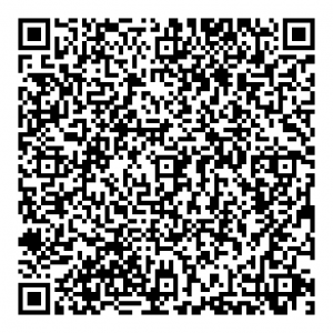 Iron Tribe Network Headquarters VCARD contact information QR Code - black and white square scannable
