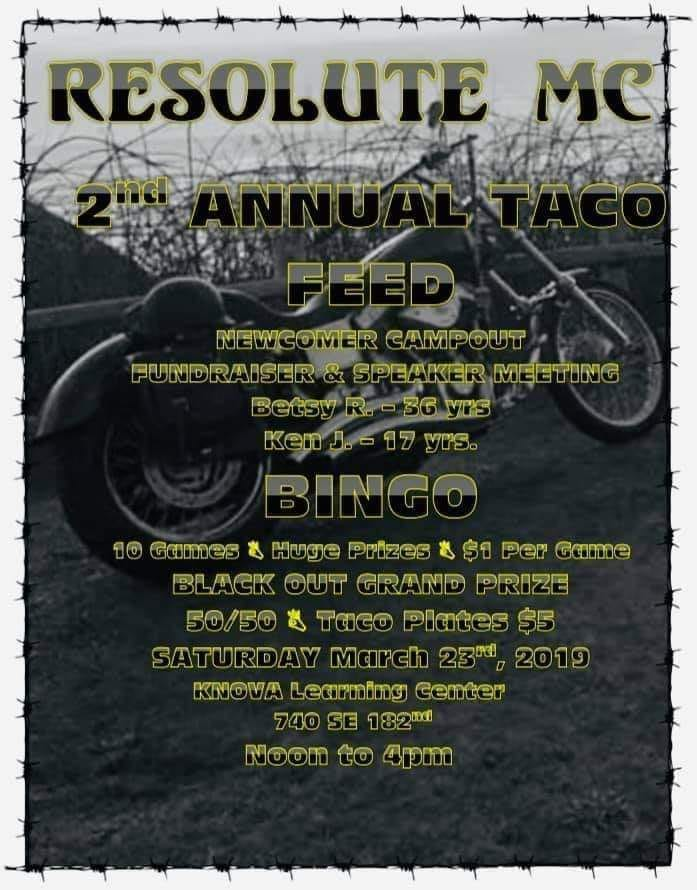Flyer for RMC Fundraiser Event
