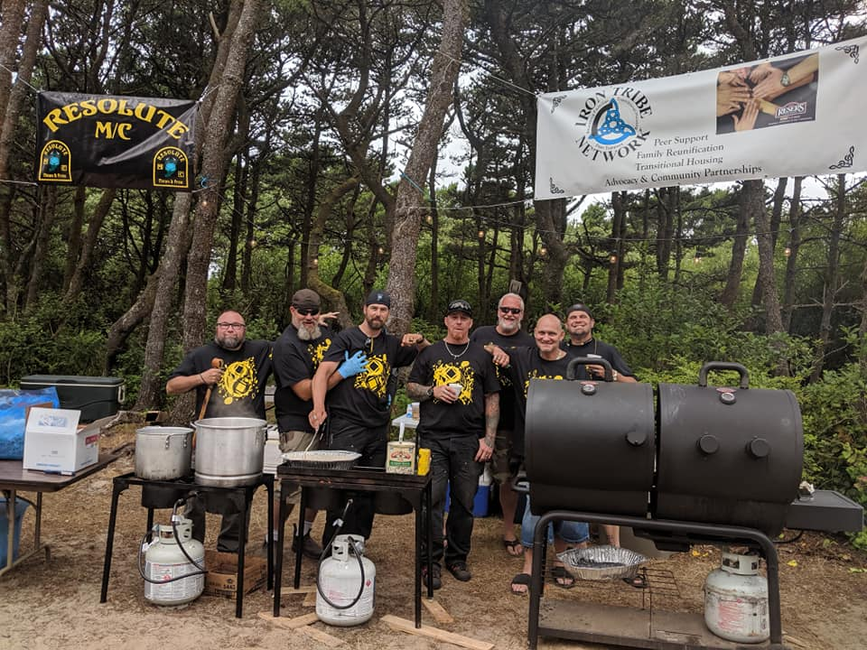 ITN & Resolute Men at Campout BBQ